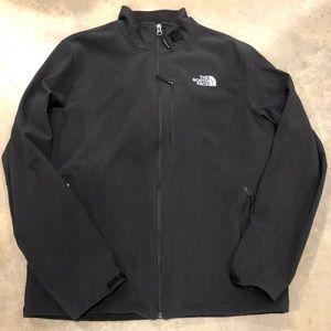 Black North Face Windwall Jacket
